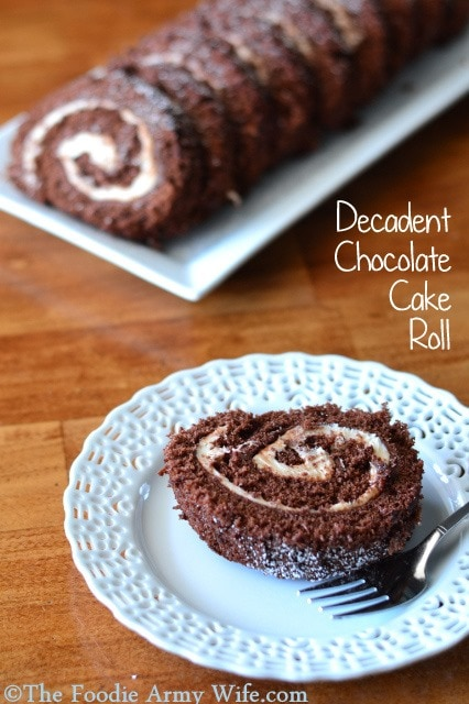 Decadent Chocolate Cake Roll