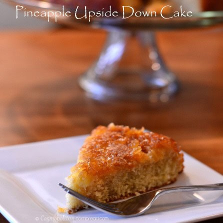 How to make good old-fashioned Pineapple Upside Down Cake from Cosmopolitan Cornbread
