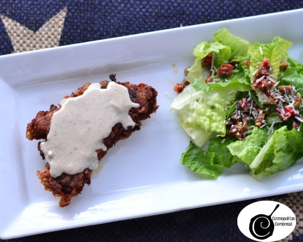 How to make Chicken Fried Steak - a southern classic from Cosmopolitan Cornbread