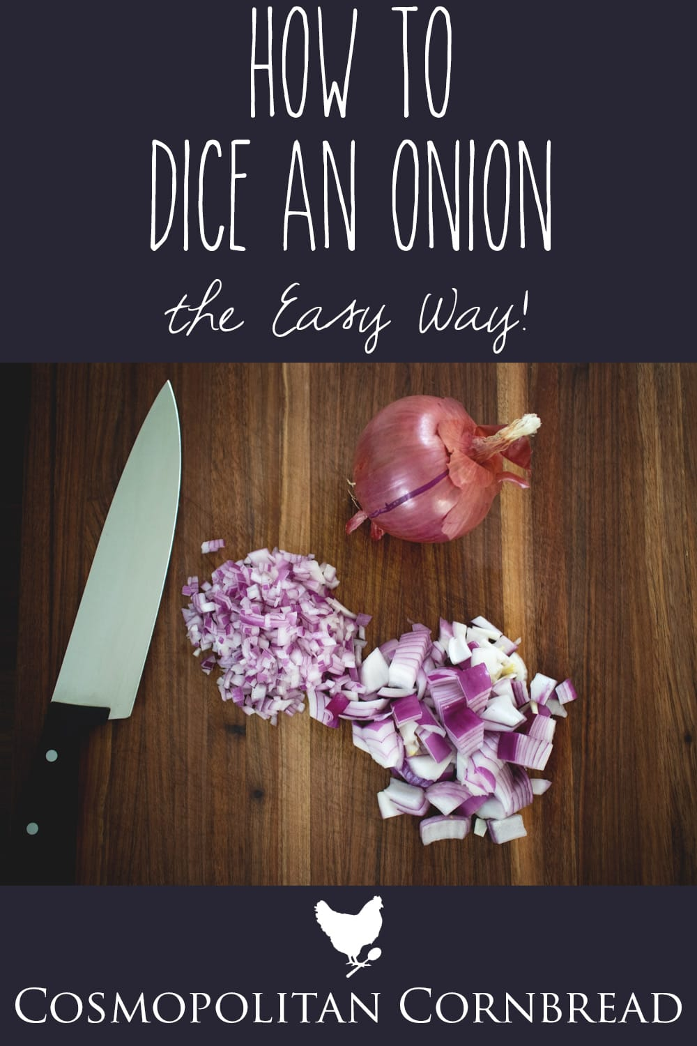 How to Dice an Onion the Easy Way
