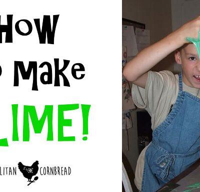 How to Make SLIME!