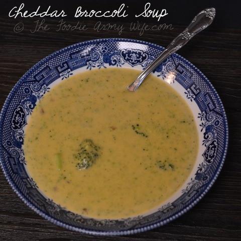 Cheddar Broccoli Soup