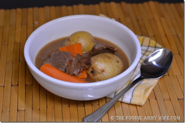 Brew Stewed Beef | The Foodie Army Wife