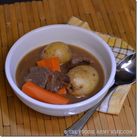 Brew Stewed Beef   The Foodie Army Wife