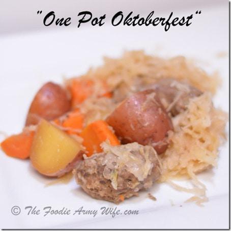 One Pot Oktoberfest   Crockpot Supper