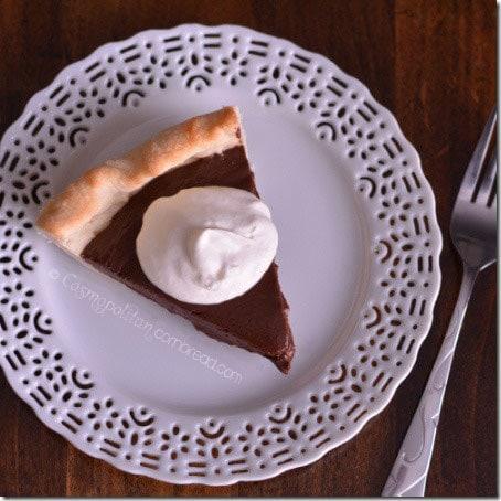 Chocolate Pie from Cosmopolitan Cornbread