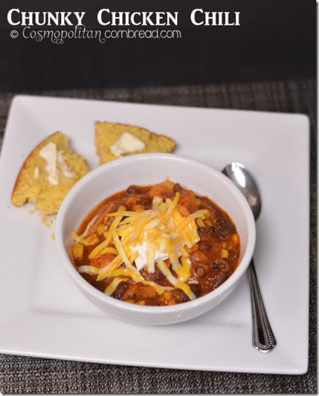 Chunky Chicken Chili from Cosmopolitan Cornbread