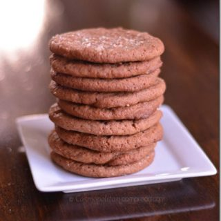 Crispy Nutella Cookies