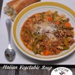 Italian Vegetable Soup | #SundaySupper Happy New Year!