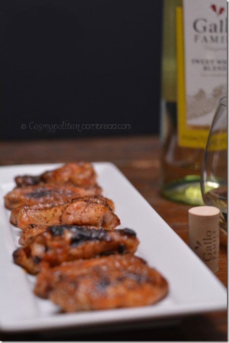 Honey Dijon Glazed Wings from Cosmopolitan Cornbread
