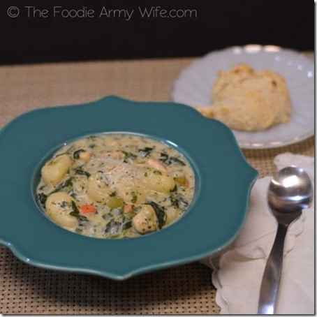 Chicken Gnocchi Soup with Drop Biscuits2