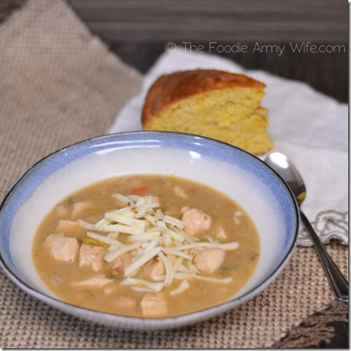 White Chicken Chili from The Foodie Army Wife 2