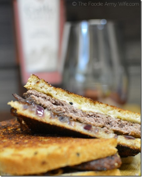 Grilled Cheese n Bison Sandwiches 4