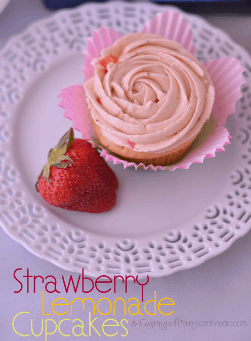 You'll love the delicately fresh flavor of these Strawberry Lemonade Cupcakes. There's even bits of fresh strawberry in the frosting! Get the recipe from Cosmopolitan Cornbread.