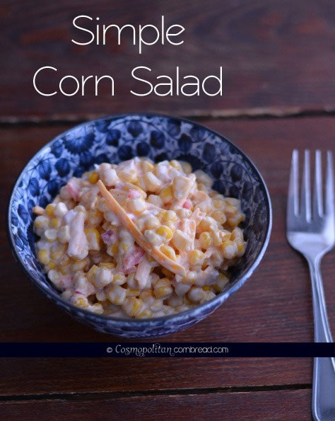 Super easy corn salad that will surprise you!