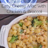 Easy Cheesy Mac with Chicken & Broccoli