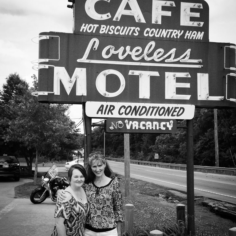 The Loveless Café in Nashville, and Old Friends