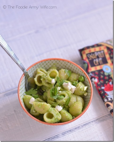Pasta with Pea Sauce