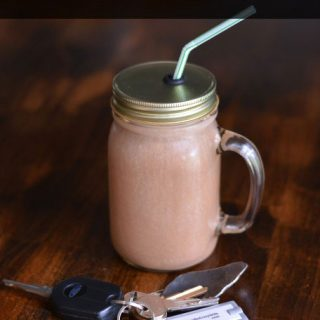 Get Up and Go Mocha Breakfast Smoothie