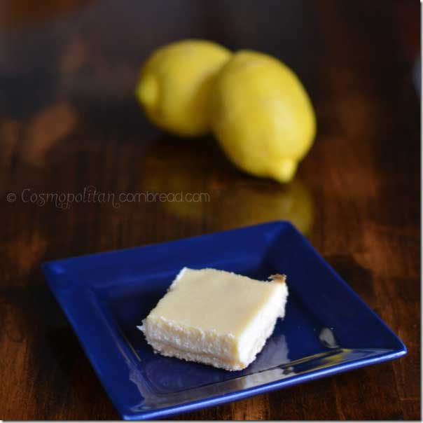 Lemon Ricotta Bars from Cosmopolitan Cornbread