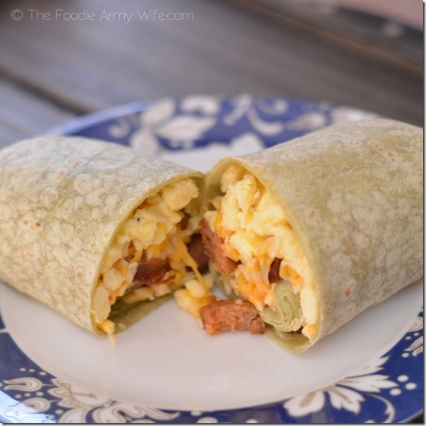Quicki Mexi Scrambled Egg Wraps 1