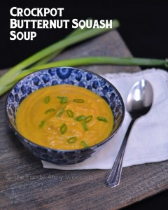 Butternut Squash Soup and Crockpot Giveaway!