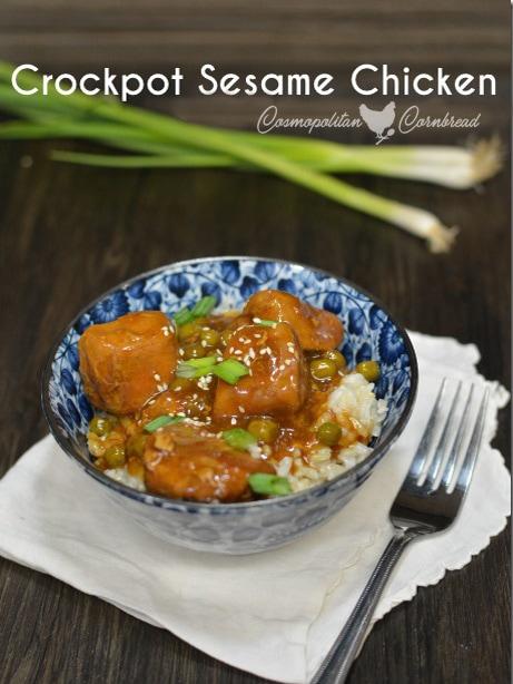 Crockpot Sesame Chicken from Cosmopolitan Cornbread
