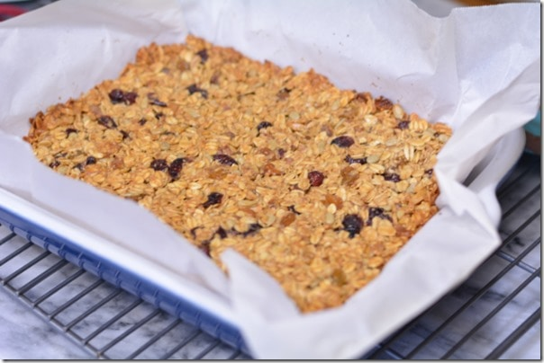 Homemade Energy Bars from The Foodie Army Wife