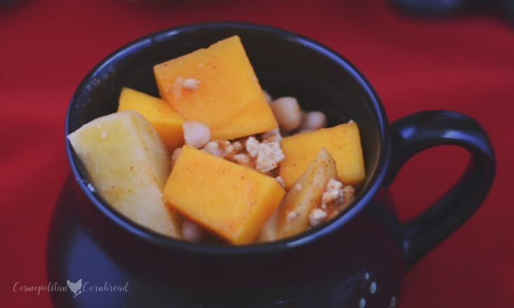 Pumpkin and Butternut Squash Chili