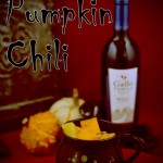 "Pumpkin Chili for a ""Spooktacular"" #Sunday Supper"