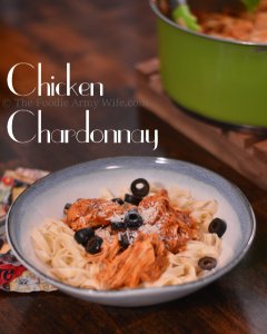 Chicken Chardonnay from The Foodie Army Wife