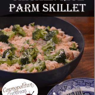 Chicken Rice Parm Skillet