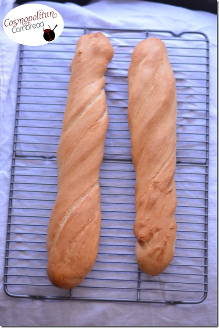 Homemade French Bread from Cosmopolitan Cornbread