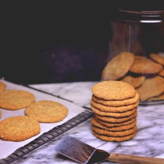 Oatmeal Refrigerator Cookies are buttery and crisp – perfect for with a mug of hot cocoa on a cool day.