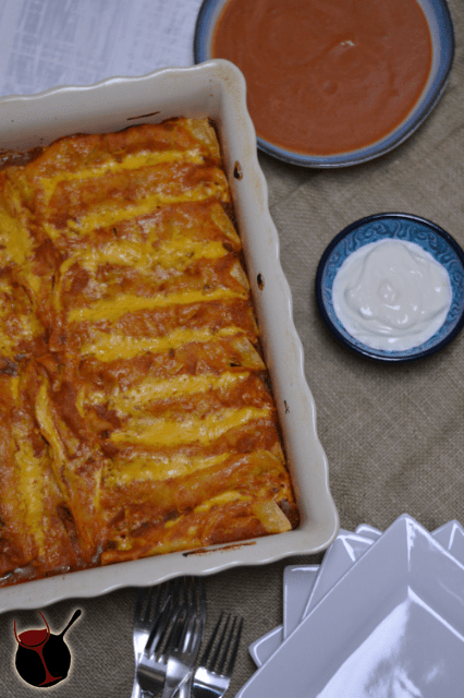 Beef and Bean Enchilada Bake from Cosmopolitan Cornbread 2