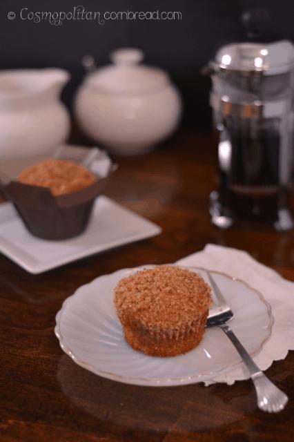 Bourbon Banana Crumb Muffins by Cosmopolitan Cornbread 2