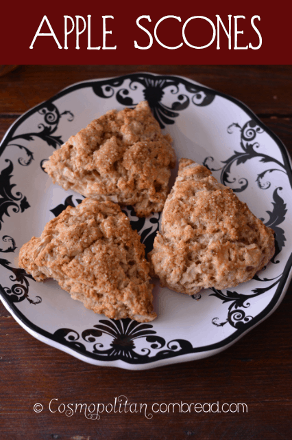 Apple Scones from Cosmopolitan Cornbread