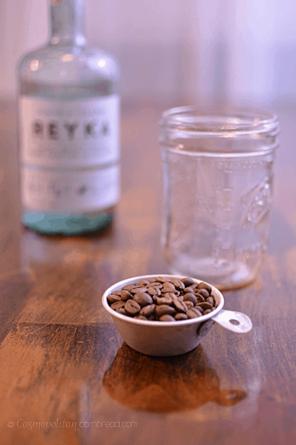 How to make Coffee Infused Vodka from Cosmopolitan Cornbread
