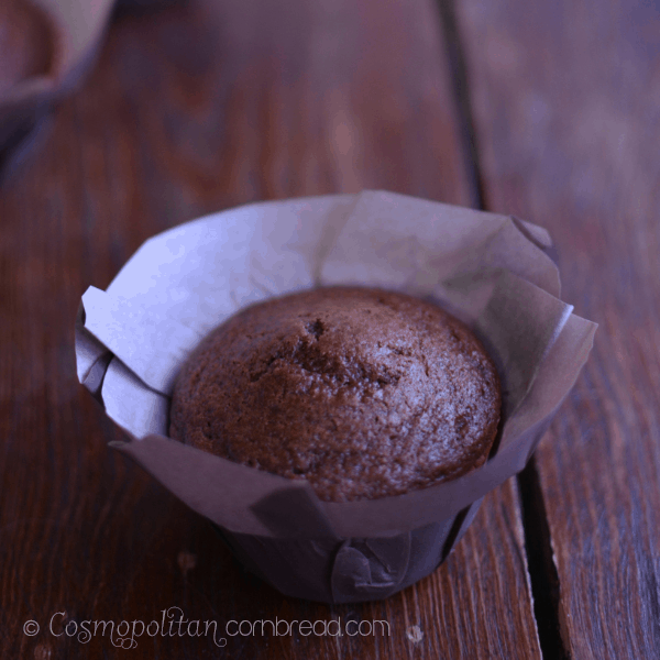 Mocha Latte Chocolate Chip Muffins from Cosmopolitan Cornbread sq