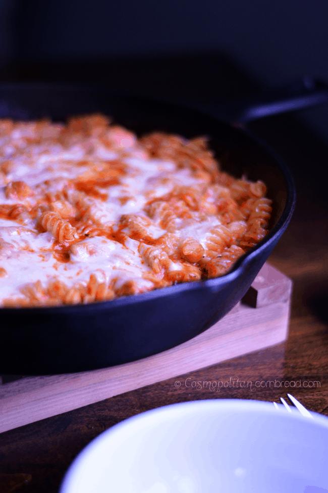 Chicken Parmesan Rotini from Cosmopolitan Cornbread