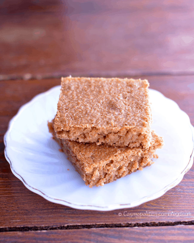 Peanut Butter Bars from Cosmopolitan Cornbread