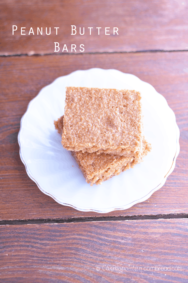 Peanut Butter Bars and 38 Perfect Recipes for a Picnic from Cosmopolitan Cornbread
