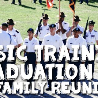 Basic Training Graduation & a Family Reunion