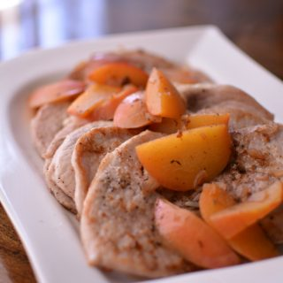 Peach & Pork Scallopini