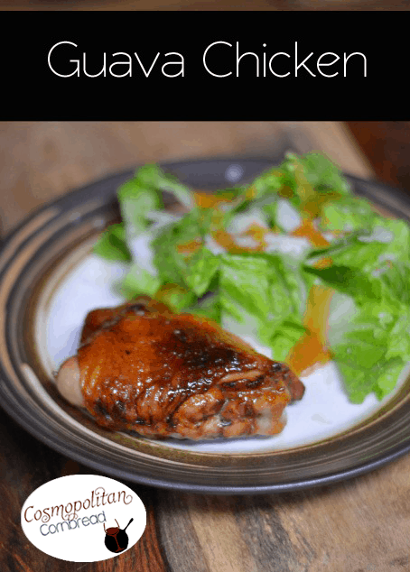 Guava Chicken - a delicious recipe that was replicated from a meal I enjoyed on my trip to Hawaii. This is a fantastic grilled chicken recipe!