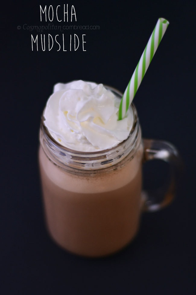 A chocolaty coffee infused cocktail from Cosmopolitan Cornbread