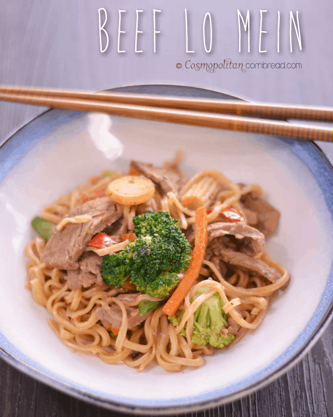 There's no need to go out to eat when you can make Beef Lo Mein right in your own home!
