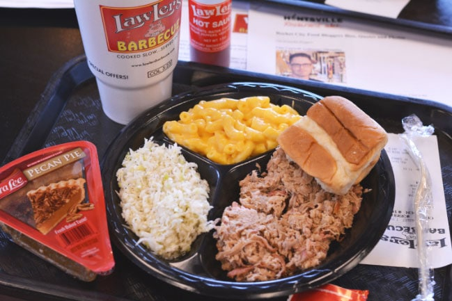 LawLers Barbecue in Madison, Alabama from Cosmopolitan Cornbread