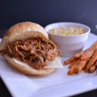 Cola Barbecue Pulled Pork