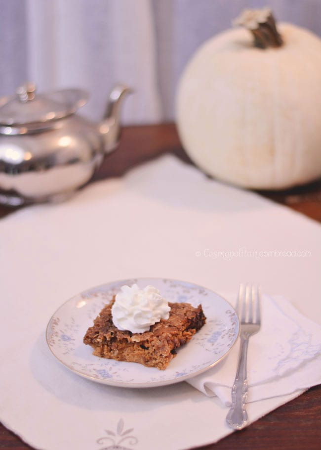 Pumpkin Crisp | Over 40 Recipes for Fall
